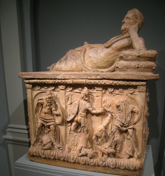 2nd century Etruscan Funerary Urn