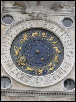 The Tower Clock of St. Mark's Square, Venice