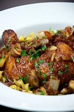 an authentic chicken cacciatore recipe