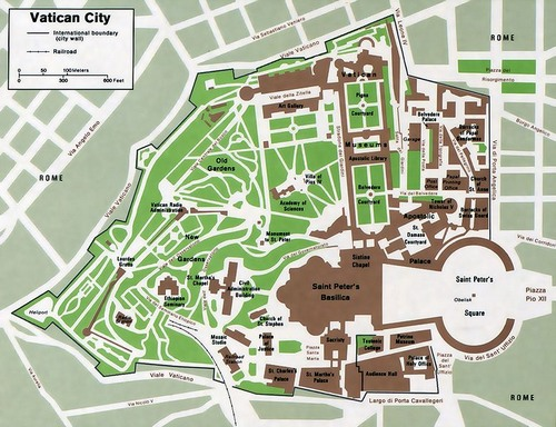 Tourist Map of Rome Italy Attractions and Transportation – Rome Tourist Map PDF