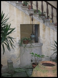Old Well in Courtyard, Bibbiena