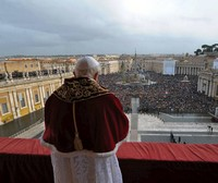 Pope's Blessing from the Vatican at Christmas.