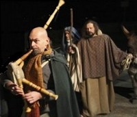 Living Nativity Procession Barga, Lucca Italy