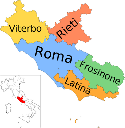 Tourist Map of Rome Italy Attractions and Transportation